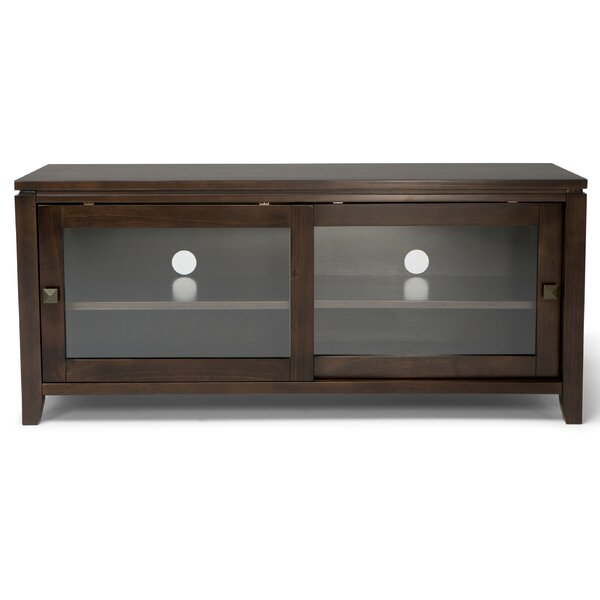Amador Solid Wood TV Stand for TVs up to 50