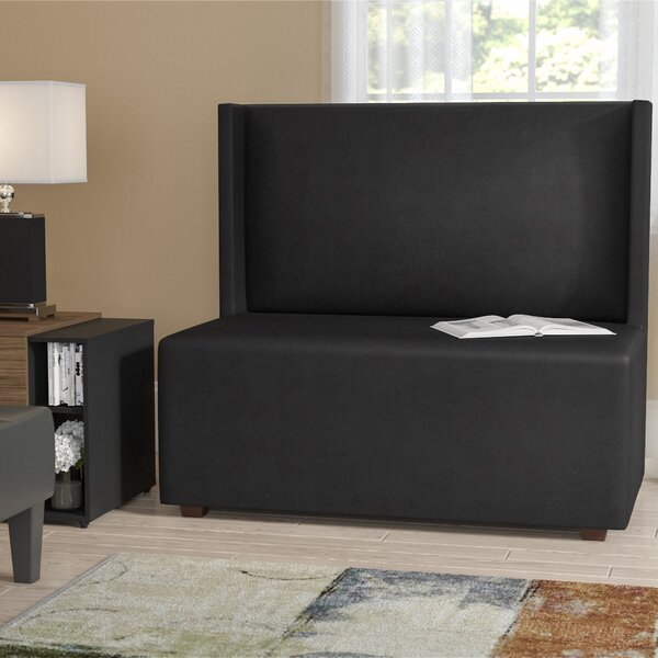Amato Square Loveseat by Latitude Run