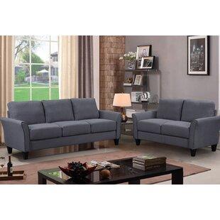Prunty 2 Piece Living Room Set by Red Barrel Studio®