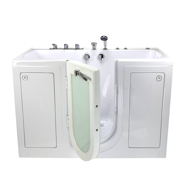 Tub4Two Hydro and MicroBubble Massage 31.75 x 60 Walk-in Whirlpool by Ella Walk In Baths