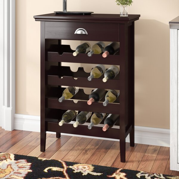 Jonnie 16 Bottle Wine Bar by Darby Home Co Darby Home Co