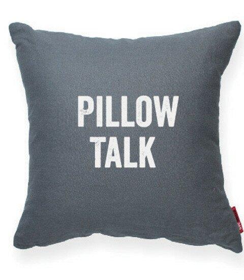 Expressive Pillow Talk Decorative Throw Pillow by Posh365