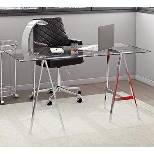 Petri Glass Writing Desk