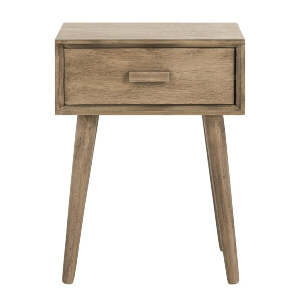 Audrick End Table With Storage by Trent Austin Des