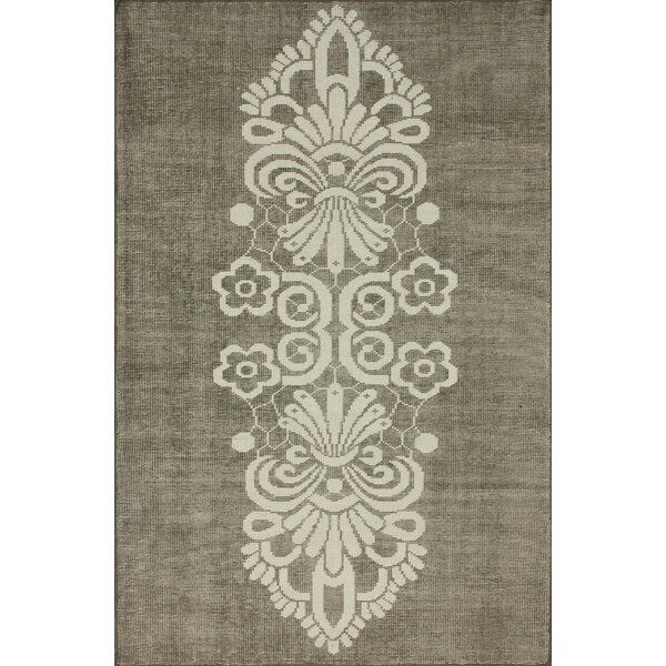 Overdye Tribal Hand-Knotted Brown/Tan Area Rug by nuLOOM
