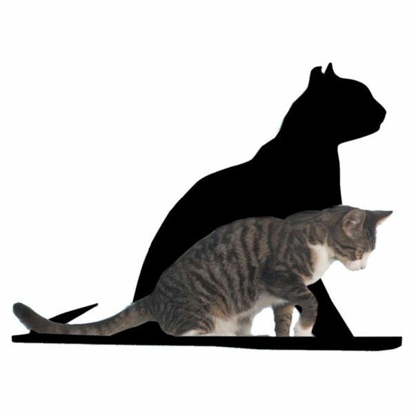 Silhouette Gaze Cat Perch by The Refined Feline