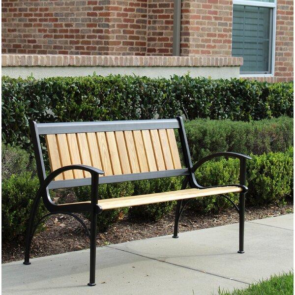 Layla Aluminium Garden Bench by Latitude Run Latitude Run