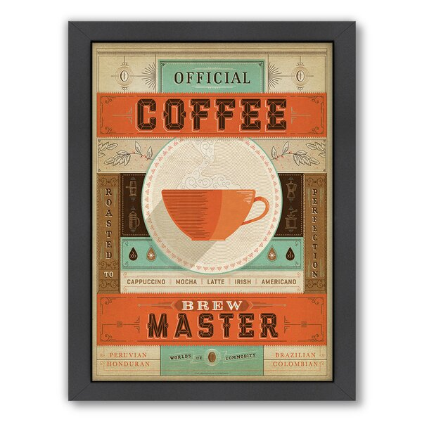 Coffee Brew Master Framed Vintage Advertisement by East Urban Home