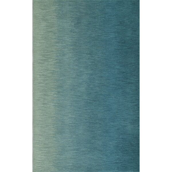 Delmar Hand-Tufted Aqua Area Rug by Dalyn Rug Co.