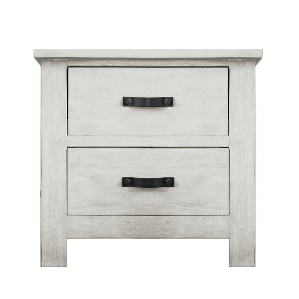 Maliyah 2 Drawer Nightstand by Harriet Bee