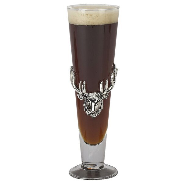 Antler Pilsner Glass by Arthur Court Designs