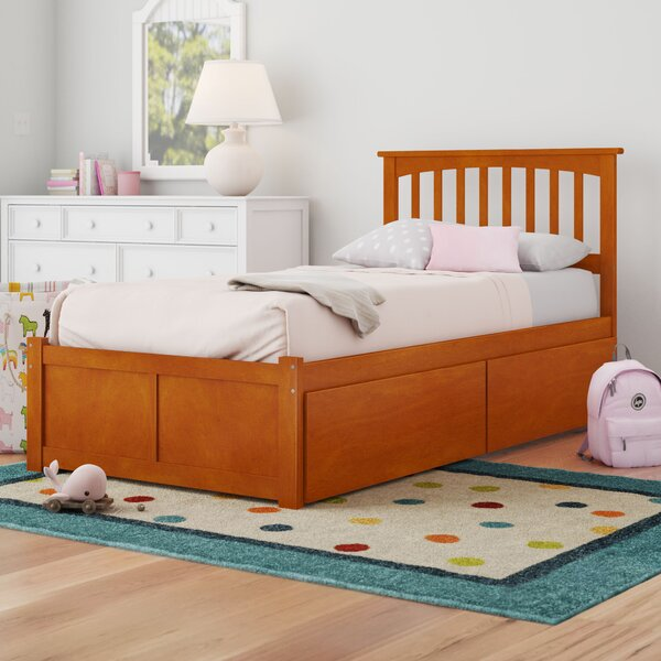 Georgia Platform Bed with Drawers by Viv + Rae