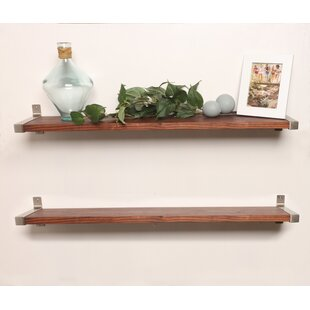 Euan 2 Piece Wall Shelf (Set of 2) by Gracie Oaks