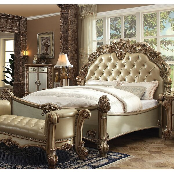 Mccarroll Upholstered Standard Bed by Astoria Grand