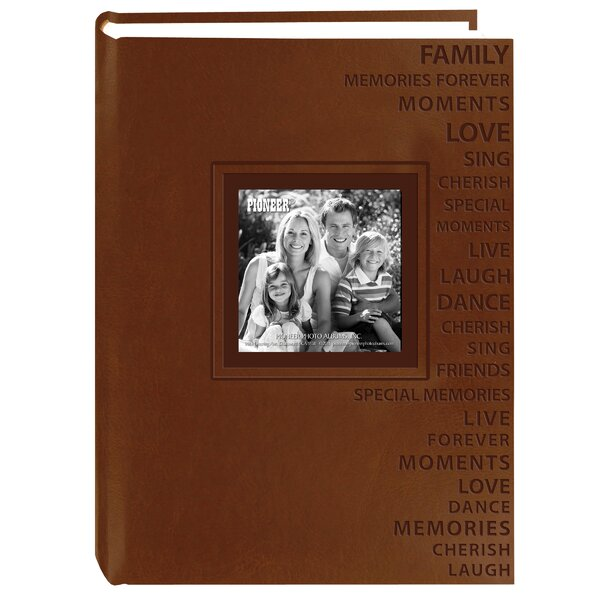 Embroidered Patch Book Photo Album by Winston Porter