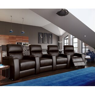 Home Theater Curved Row Seating (Row of 4) Latitude Run