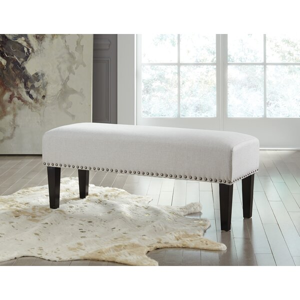 Deandra Wood Bench by Charlton Home