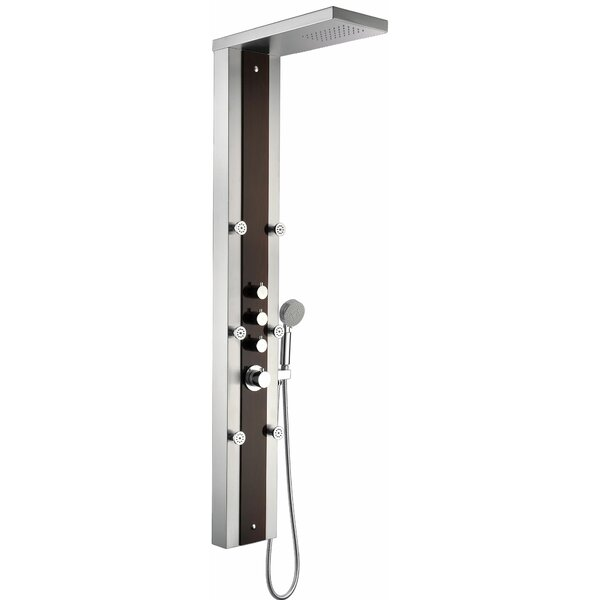 Kiki Thermostatic Shower Panel System by ANZZI