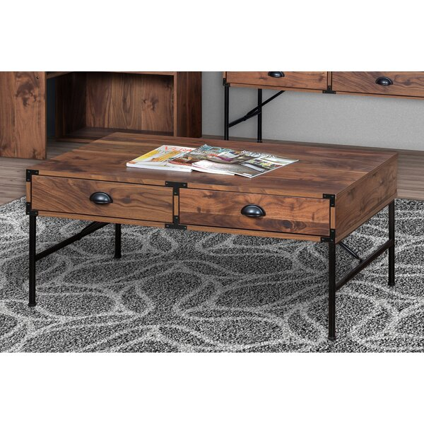 Orman Coffee Table with Storage by Williston Forge