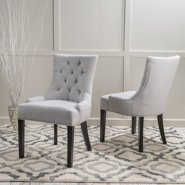 Fresh Grandview Upholstered Dining Chairs (Set Of 2) (Set Of 2) By Birch Lane™ Heritage Spacial Price