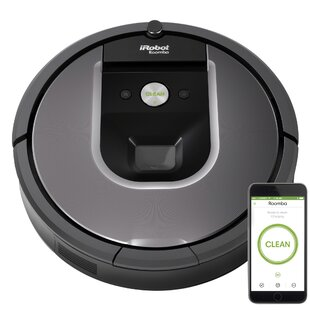 IRobot Roomba 960 Bagless Robotic Vacuum With Wi-Fi Connected Mapping by iRobot