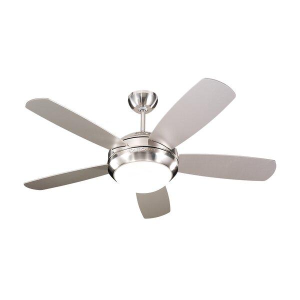 44 Beltran 5 Blade Ceiling Fan by Mercury Row