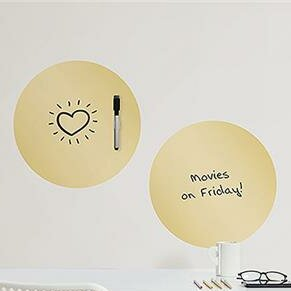 Dry Erase Foil Dot Wall Decal by WallPops!