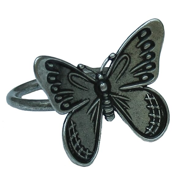 Flutter Spring Butterfly Napkin Ring (Set of 4) by Manor Luxe