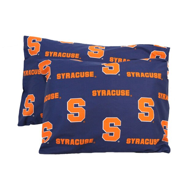 NCAA Syracuse Pillowcase (Set of 2) by College Covers