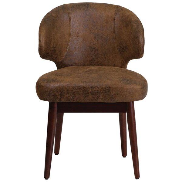Fluellen Comfort Back Bomber Jacket Guest Chair by Wrought Studio
