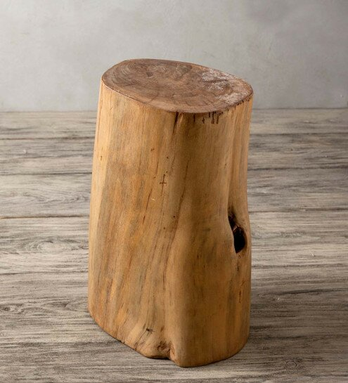 Thurmont Fir Tree Trunk Accent Stool by Union Rustic