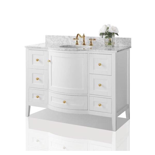 Hadley 48 Single Bathroom Vanity Set by Charlton Home