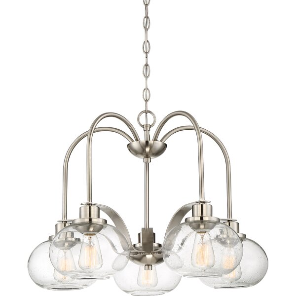 Frimunt 5 - Light Shaded Traditional Chandelier by Birch Lane Heritage Birch Lane™ Heritage