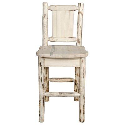 24 Inch Folding Chairs.Peabody Handcrafted 24 Inch Bar Stool By Loon Peak Wonderful