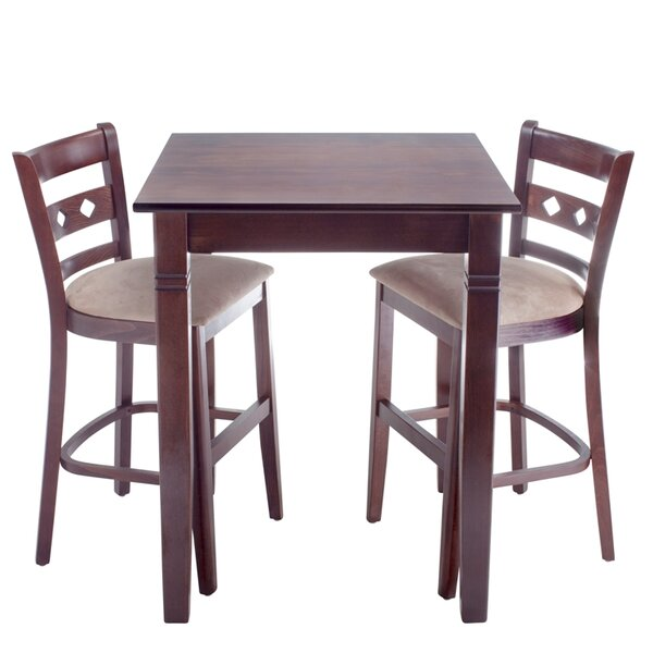 Yablonski 3 Piece Pub Table Set by Red Barrel Studio