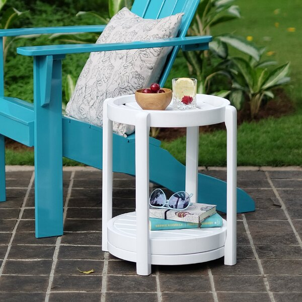 Fordyce Wooden Side Table by Andover Mills Andover Mills