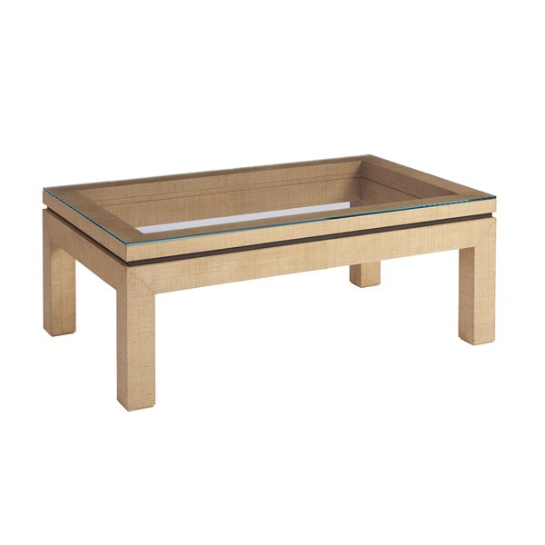 Barclay Butera Glass Top Coffee Tables