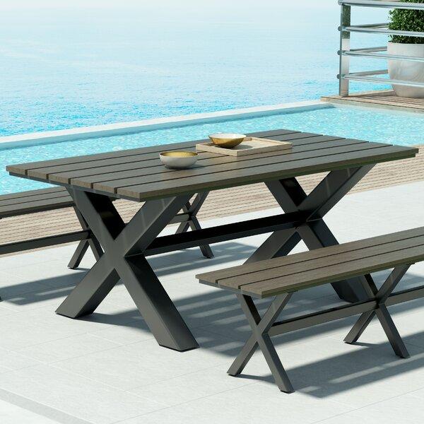 Plastic/Resin  Dining Table by Brayden Studio