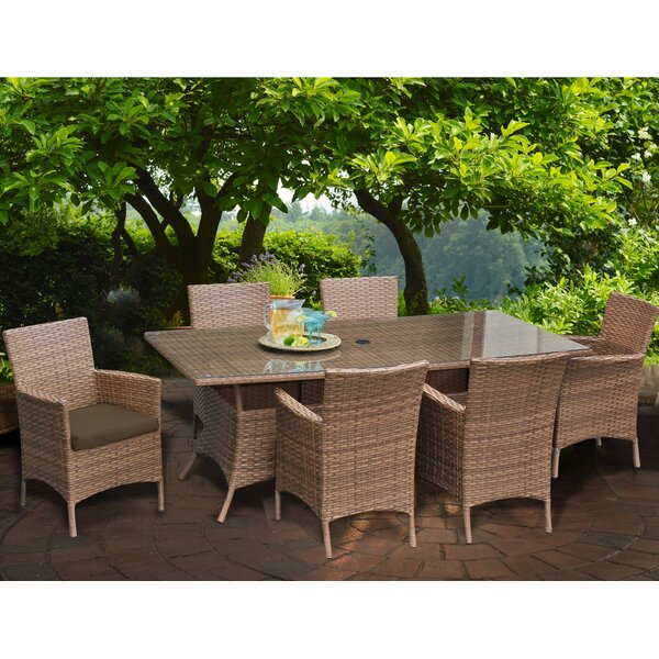 Laguna Patio Dining Chair with Cushion (Set of 6) by TK Classics TK Classics
