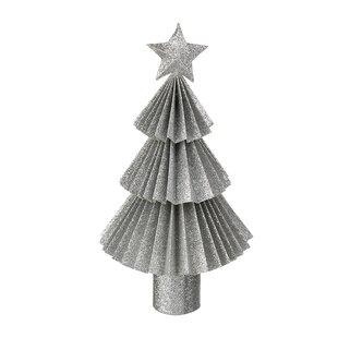 silver tree decoration - Silver Christmas Decorations Uk