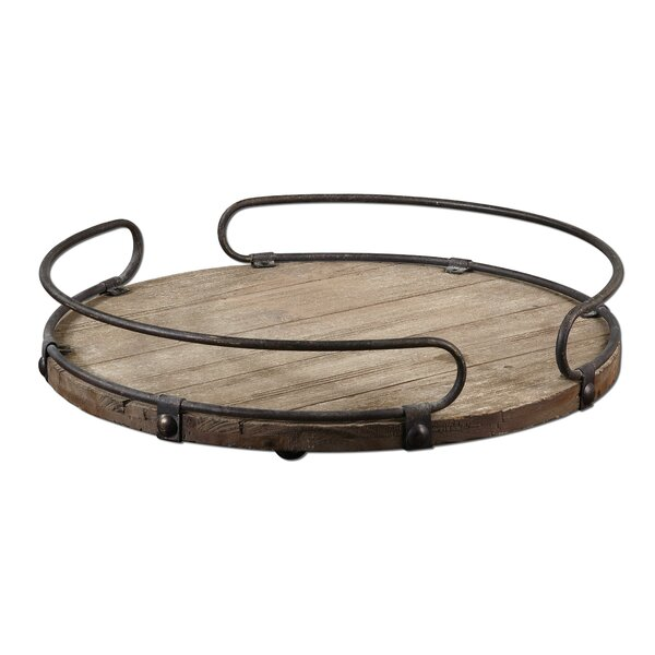 Adalwin Round Serving Tray by 17 Stories