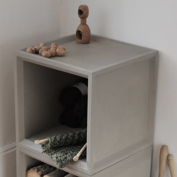 Plus Cube Unit Bookcase by Lyon Beton