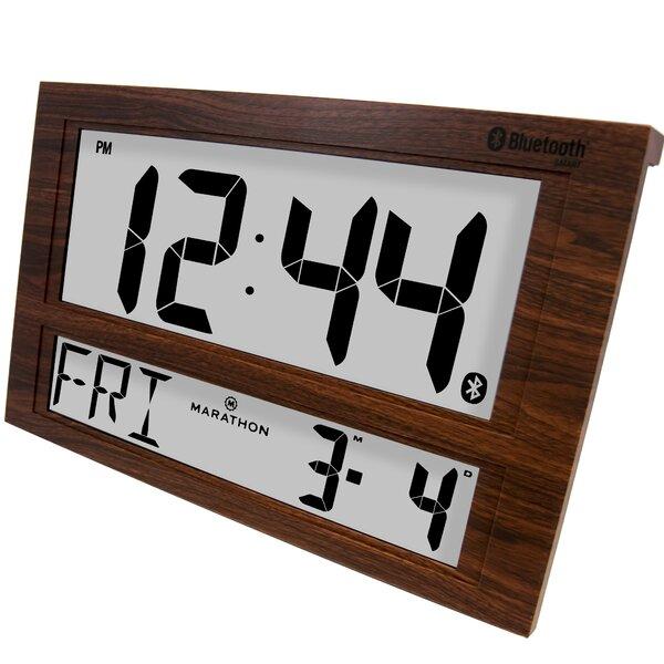 Jumbo Bluetooth Alarm Clock by Marathon Watch Company