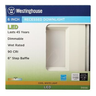 LED Recessed Retrofit Downlight By Westinghouse Lighting Ceiling Lights