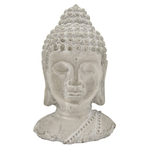 Upton Buddha Head Bust by World Menagerie