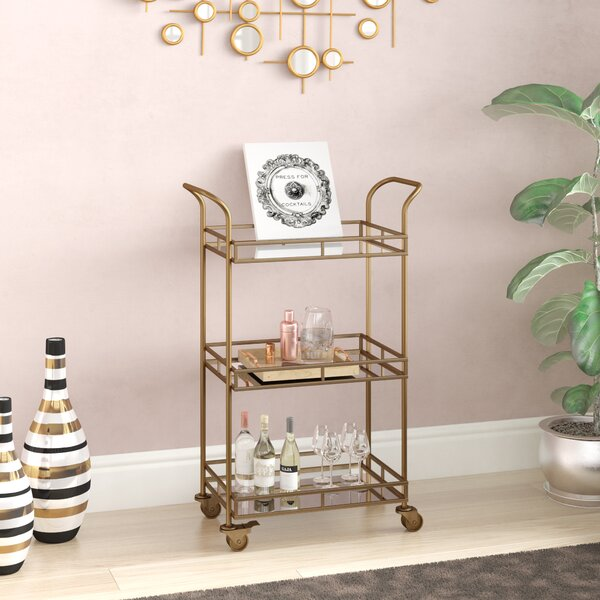 Shauna Bar Cart by Willa Arlo Interiors Willa Arlo Interiors