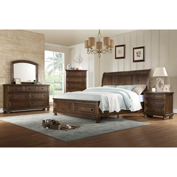 Morehouse Sleigh 4 Piece Bedroom Set by Gracie Oaks Gracie Oaks