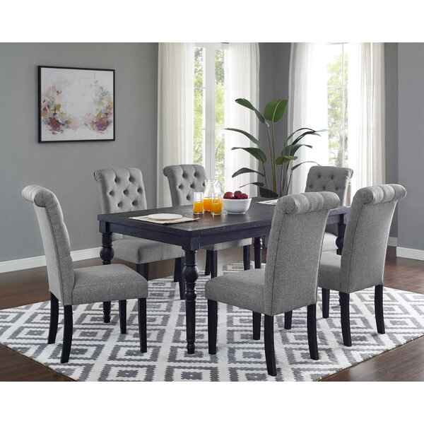 Best Design Evelin 7 Piece Dining Set By Charlton Home Spacial Price