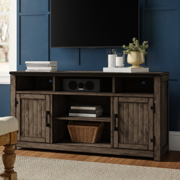 Three Posts TV Stand Fireplaces