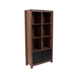 Dantzler Crosscut Cube Bookcase by Gracie Oaks Best #1